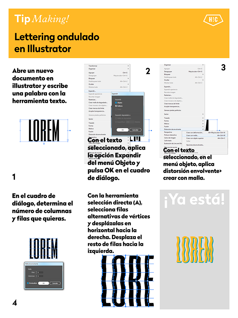 trucos-de-illustrator-lettering-ondulado
