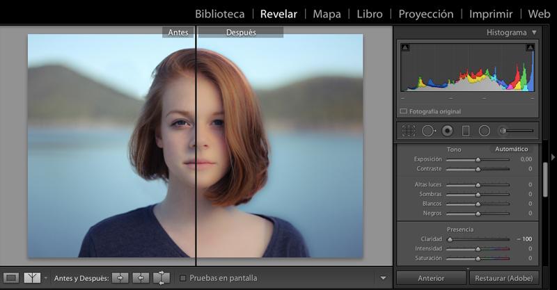 editar-con-lightroom-claridad-baja