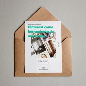 Tarjeta regalo Pinterest como herramienta de marketing