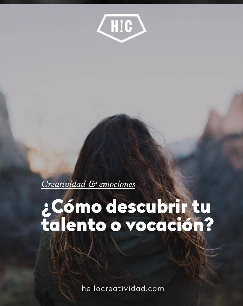 ¿Cómo descubrir tu talento o vocación?
