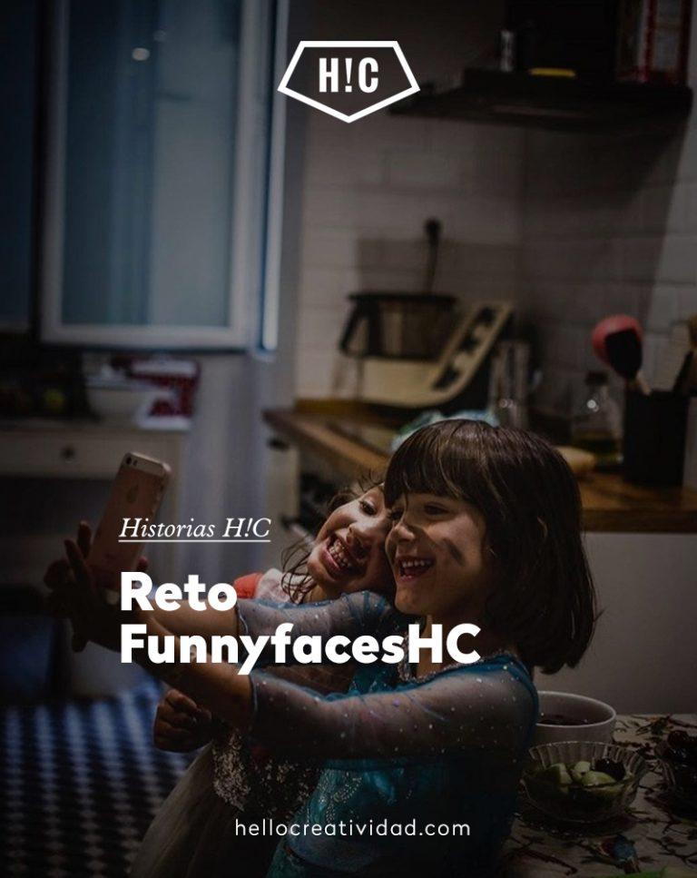 Imagen portada Reto #FunnyFaces