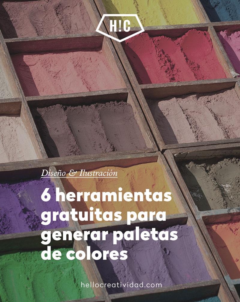 6 herramientas para generar una paleta de colores