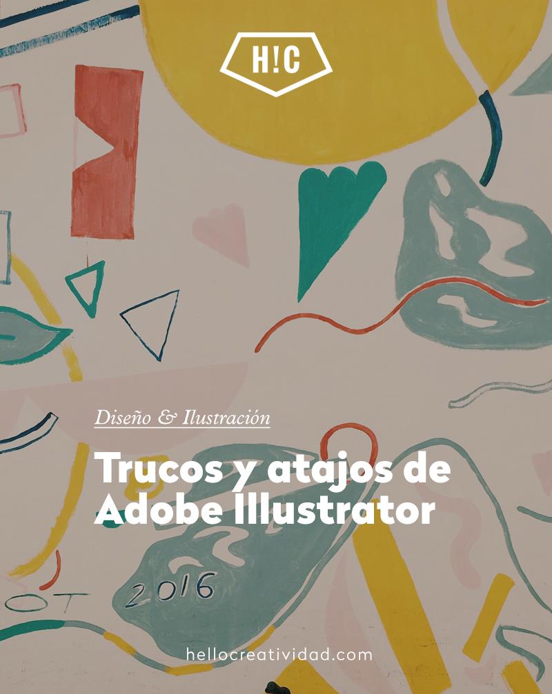 Trucos y atajos de Adobe Illustrator