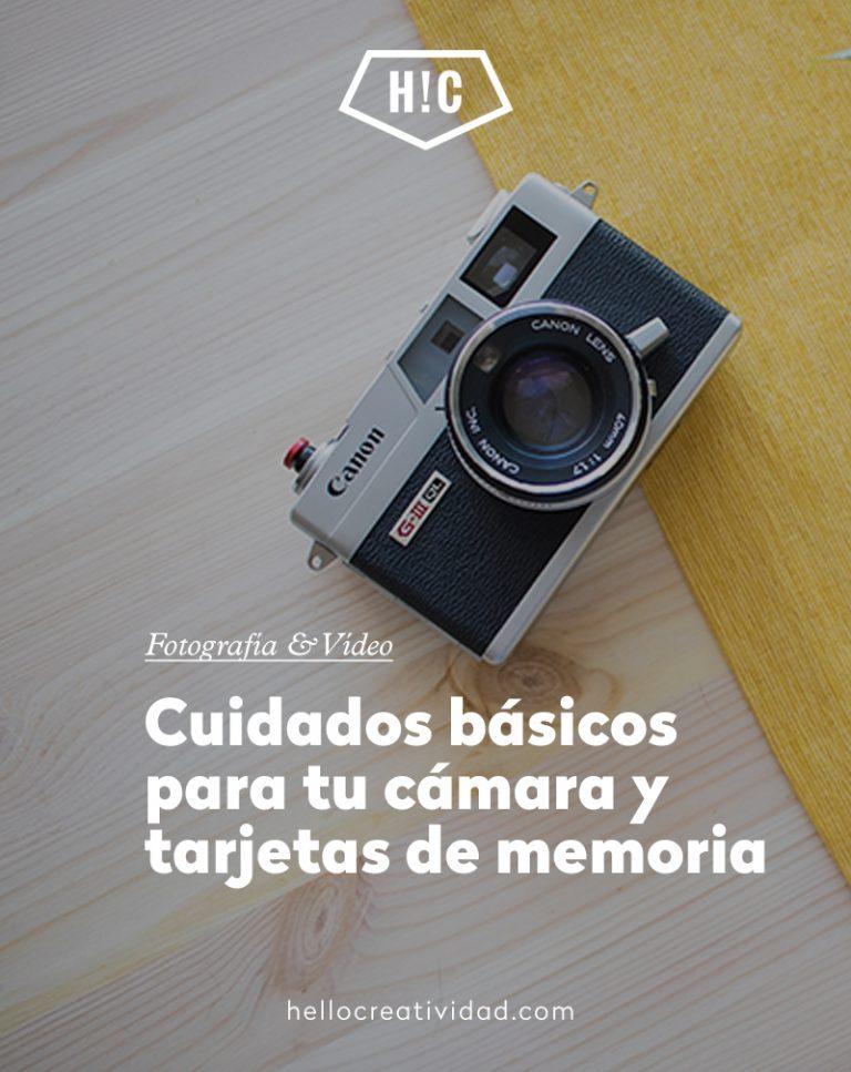 Imagen portada Cuidados básicos para tu réflex y tarjetas de memoria