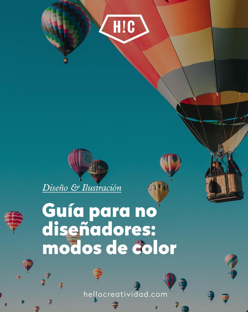 Guía para no diseñadores: los modos de color