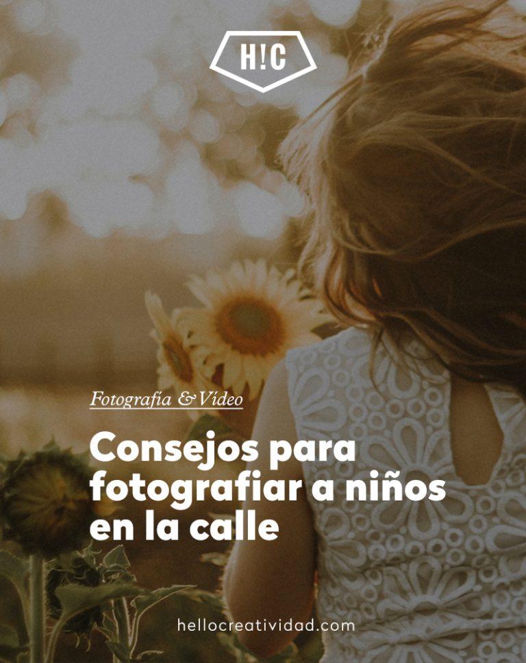 Imagen portada Consejos para fotografiar a niños en la calle