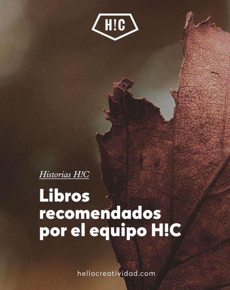 Imagen portada Libros recomendados por el equipo H!C
