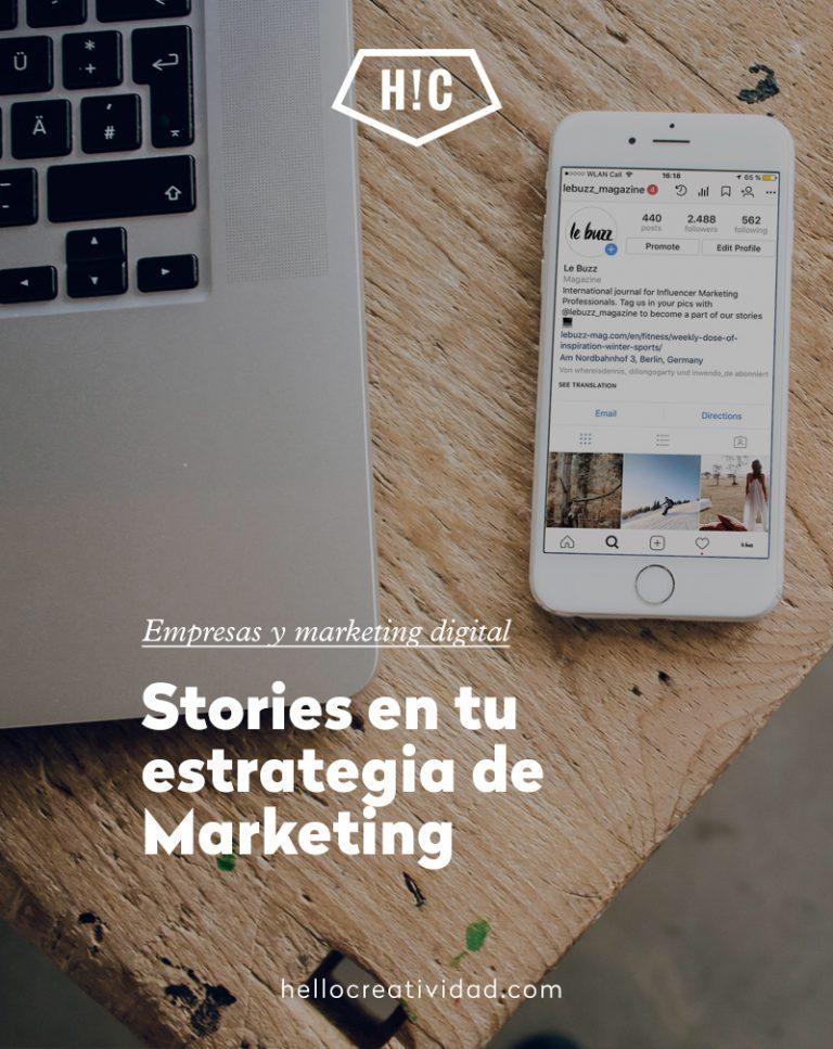 Imagen portada ¿Por qué utilizar Stories en tu estrategia de Marketing?