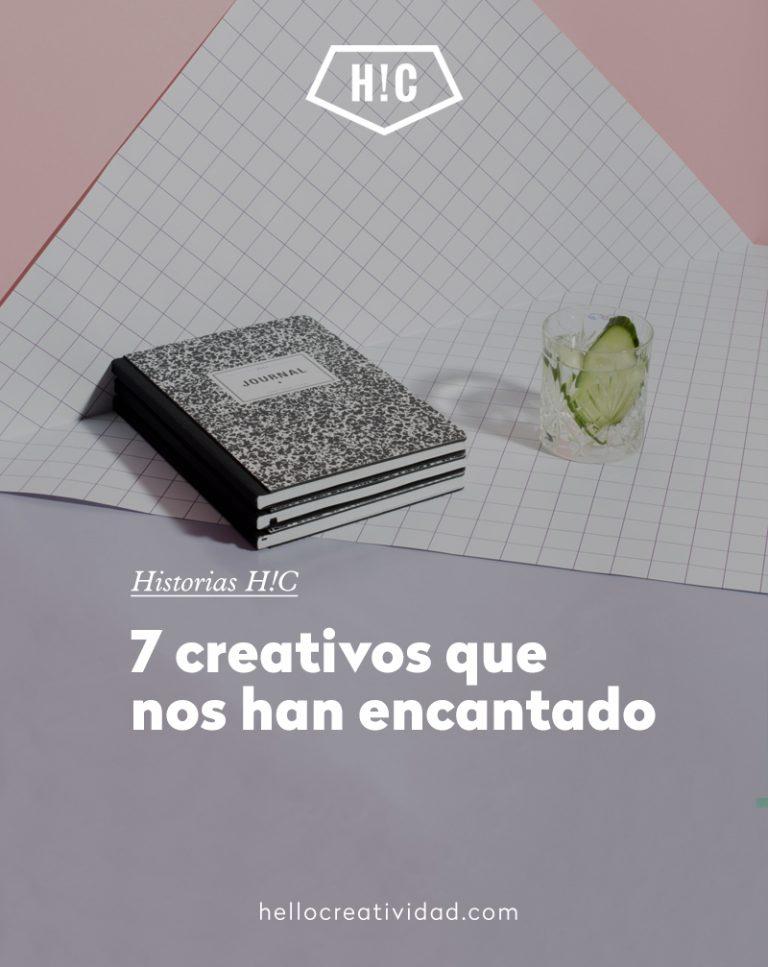 Imagen portada 7 creativos que nos han encantado