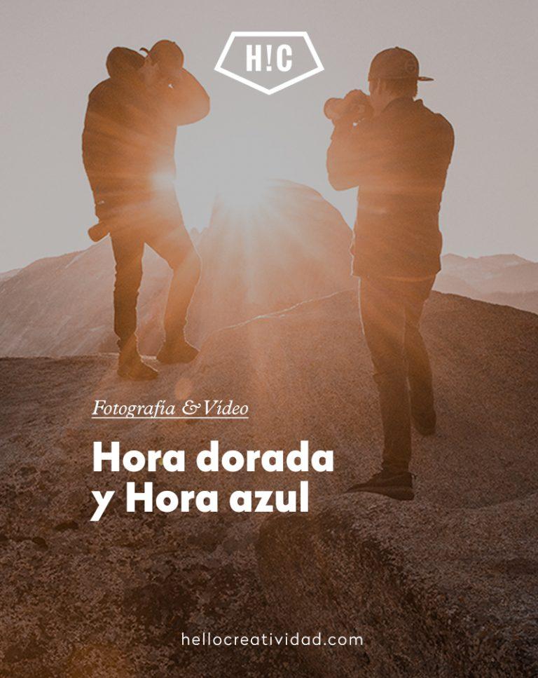 Imagen portada Hora dorada y Hora azul