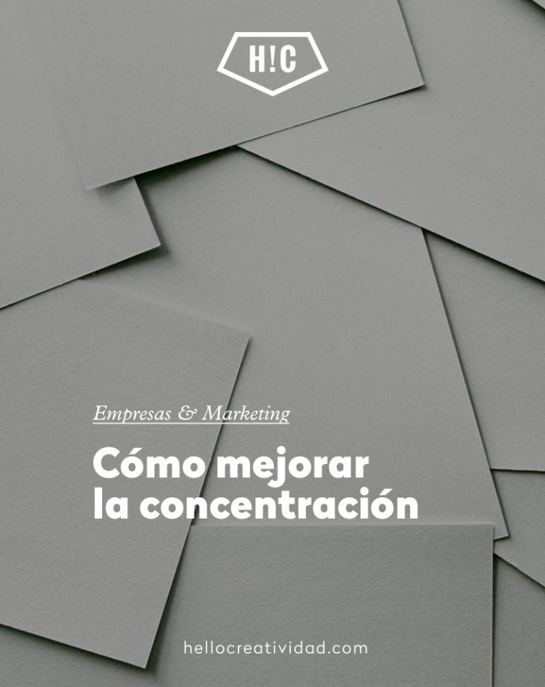 Imagen portada Cómo mejorar la concentración