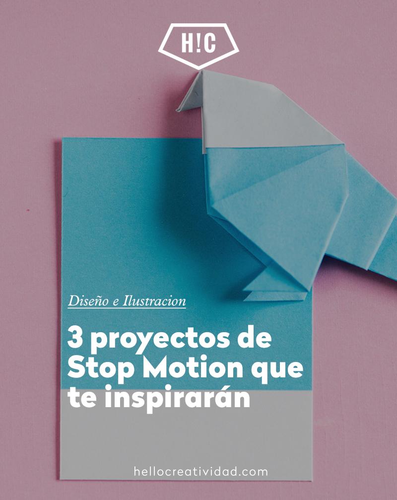 3 proyectos de Stop Motion que te inspirarán