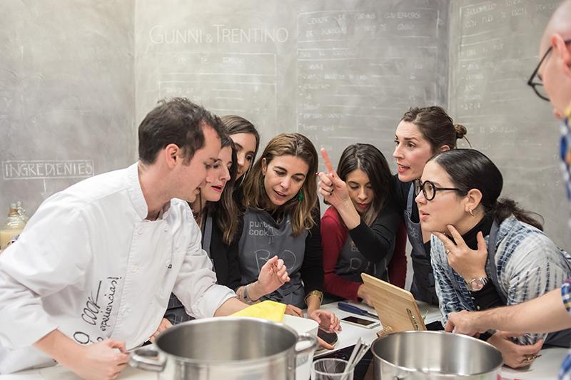 Encuentros Pinterescos - taller de cocina Punto Cook