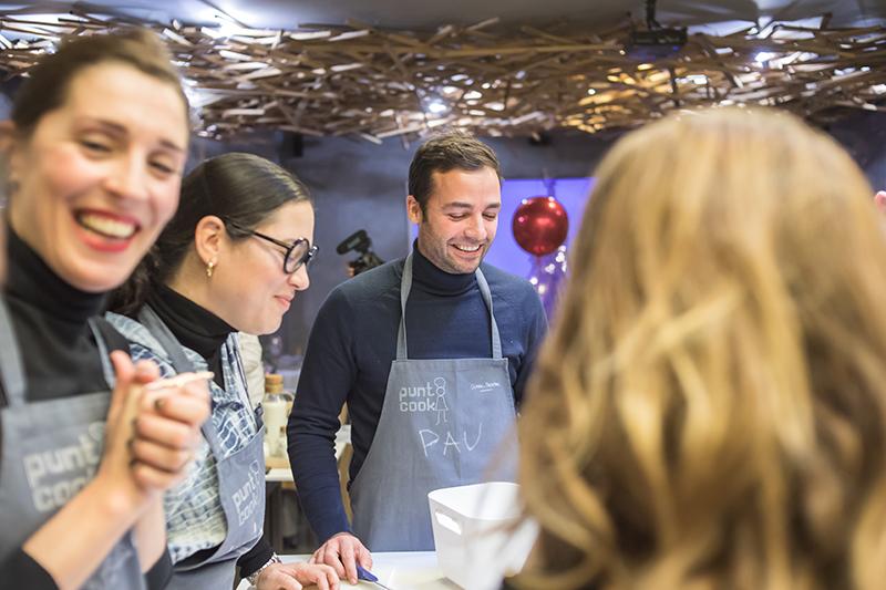 Encuentros Pinterescos - taller de cocina Punto Cook - Pau Casas