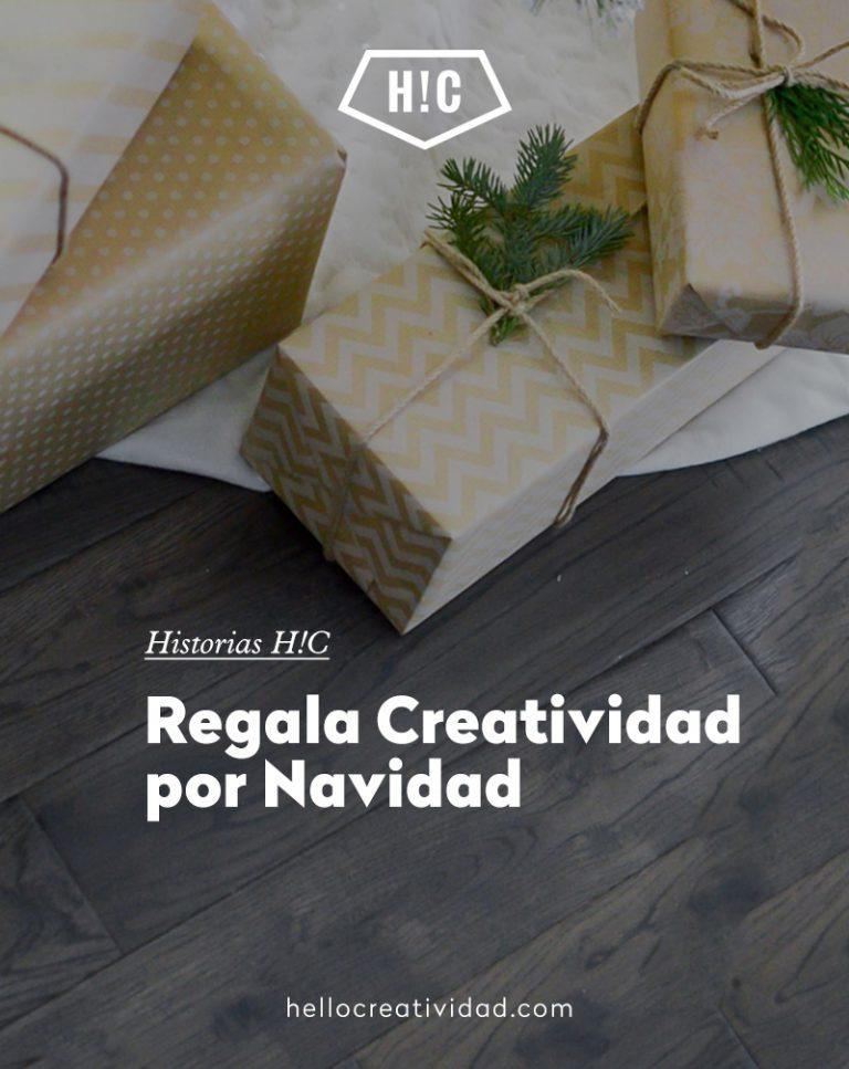 Imagen portada Regala Creatividad por Navidad