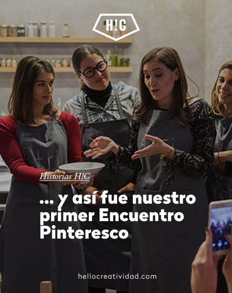 Imagen portada … y así fue nuestro primer Encuentro Pinteresco
