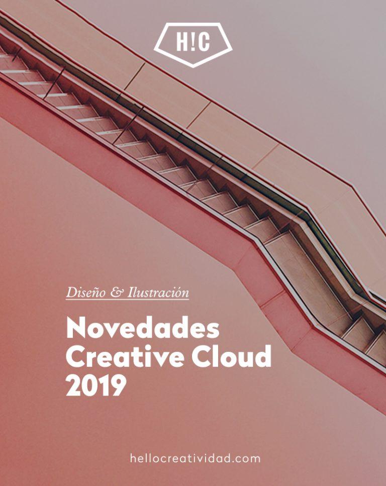 Imagen portada Novedades Creative Cloud – Adobe 2019