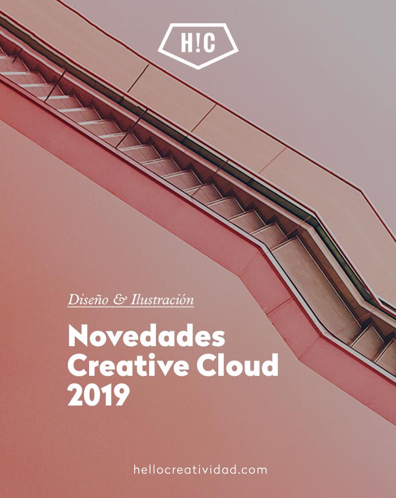 Novedades Creative Cloud – Adobe 2019