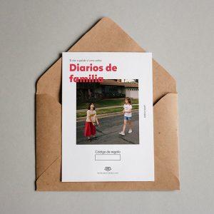 Tarjeta regalo Diarios de Familia