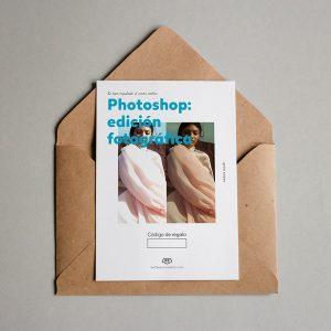Tarjeta regalo Photoshop: Edición Fotográfica