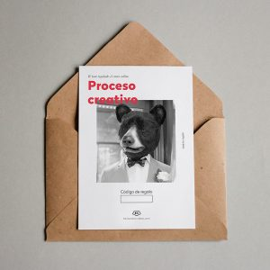 Tarjeta regalo Proceso creativo
