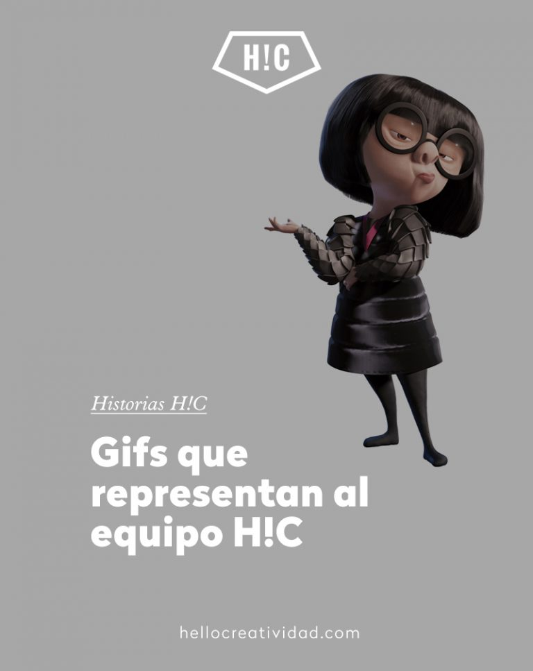 Imagen portada Gifs que representan al equipo H!C