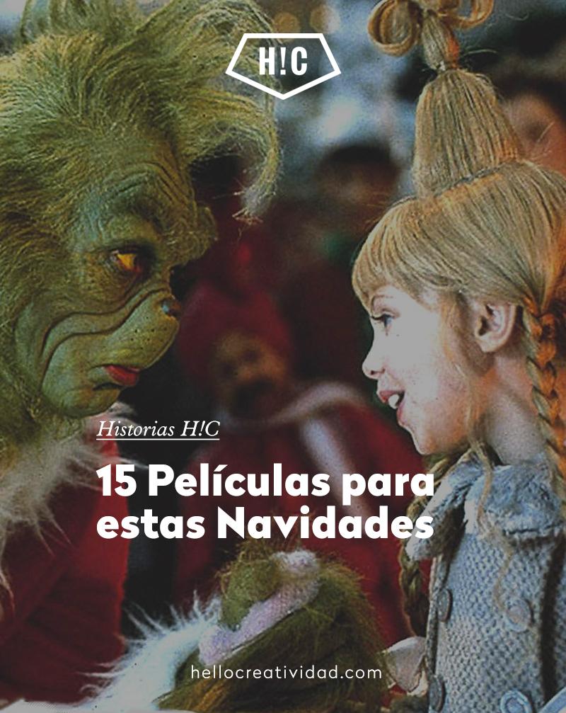 15 Películas para estas Navidades