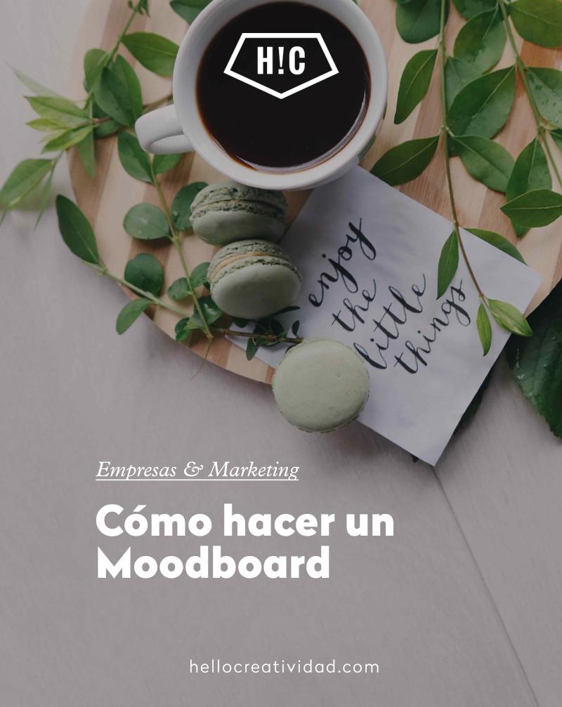 Cómo hacer un Moodboard