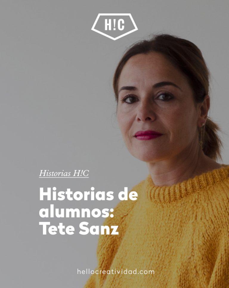 Imagen portada Historias de alumnos: Tete Sanz