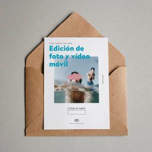 Tarjeta regalo Edición Foto y Vídeo Móvil