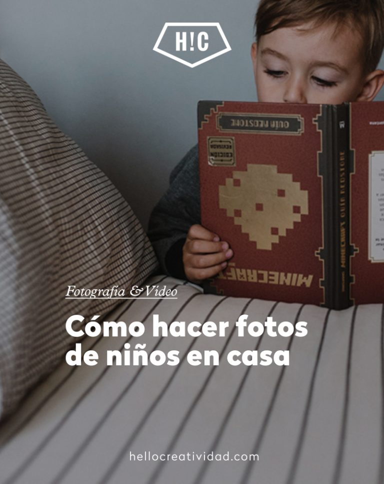 Imagen portada Cómo hacer fotos de niños en casa