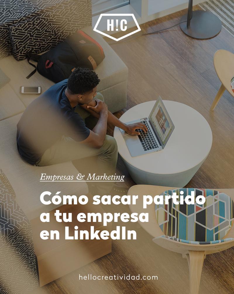 Cómo sacar partido a tu empresa en LinkedIn