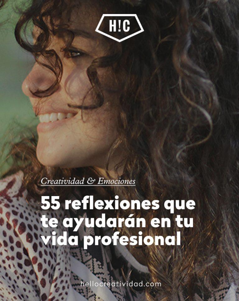 Imagen portada 55 reflexiones que te ayudarán en tu vida profesional