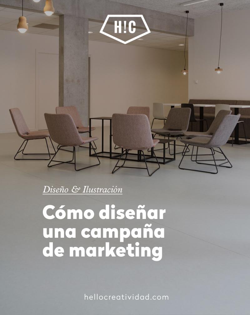 Cómo diseñar una campaña de marketing: Así lo hacemos en H!C