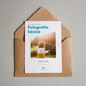 Tarjeta regalo Fotografía básica
