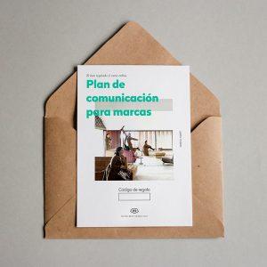 Tarjeta Regalo Plan de comunicación para marcas