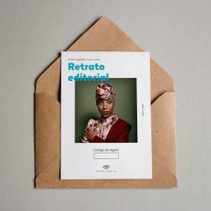 Tarjeta Regalo Retrato Editorial
