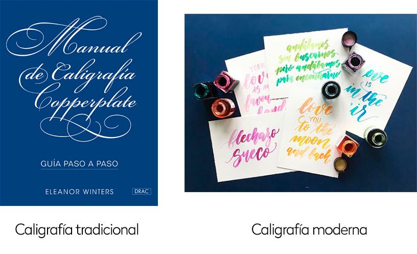 diferencias-caligrafia-moderna-tradicional