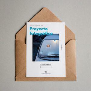Tarjeta Regalo Proyecto Fotográfico