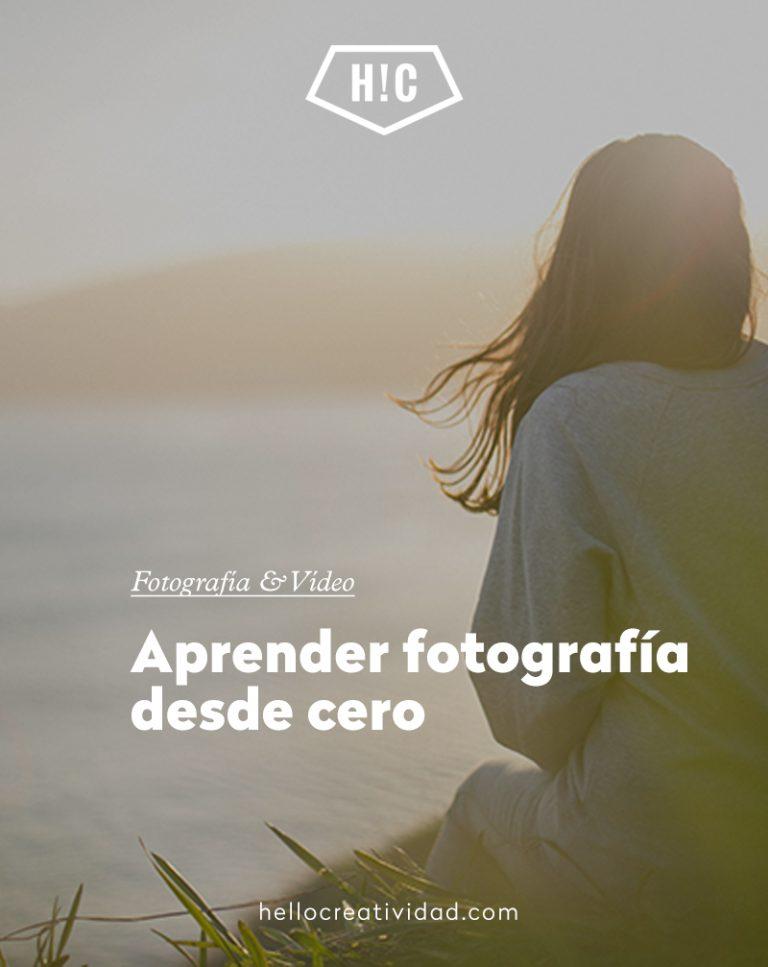 Imagen portada Aprender fotografía desde cero