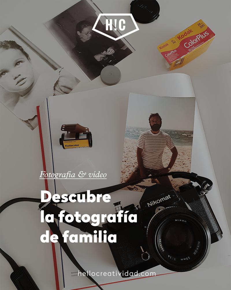 Descubre la fotografía de familia