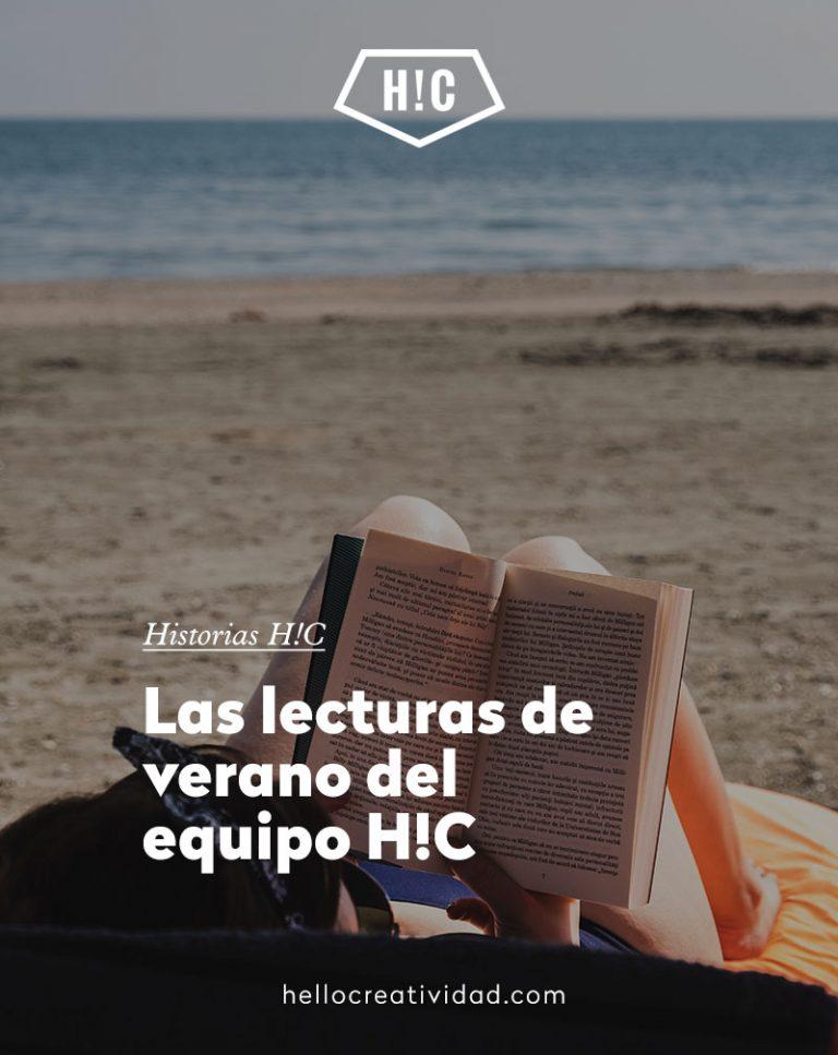 Imagen portada Lecturas de verano del equipo H!C