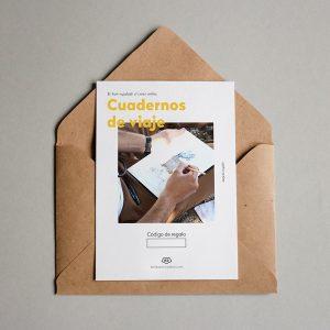 Tarjeta regalo Cuadernos de Viaje