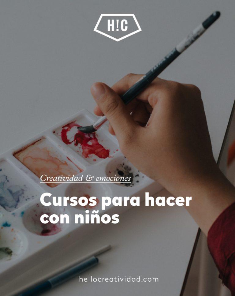 Imagen portada 6 cursos para hacer con niños