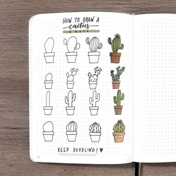 como-hacer-doodles-bullet-journal