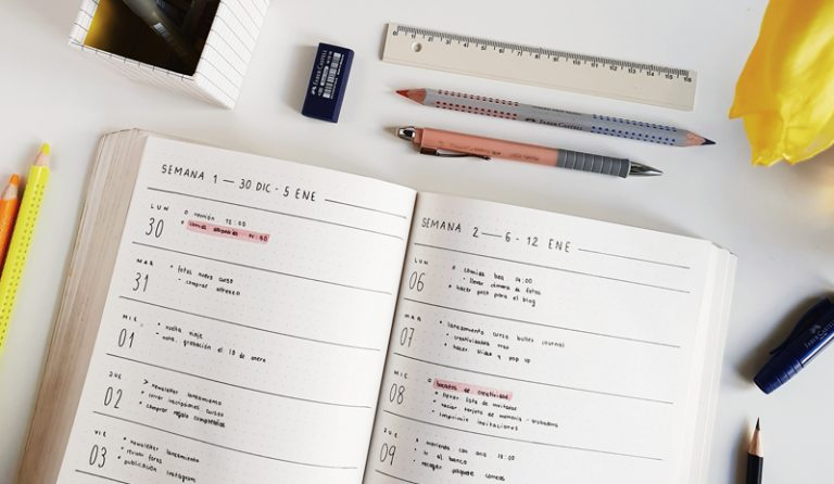 Imagen portada 9 ideas para mejorar tu bullet journal
