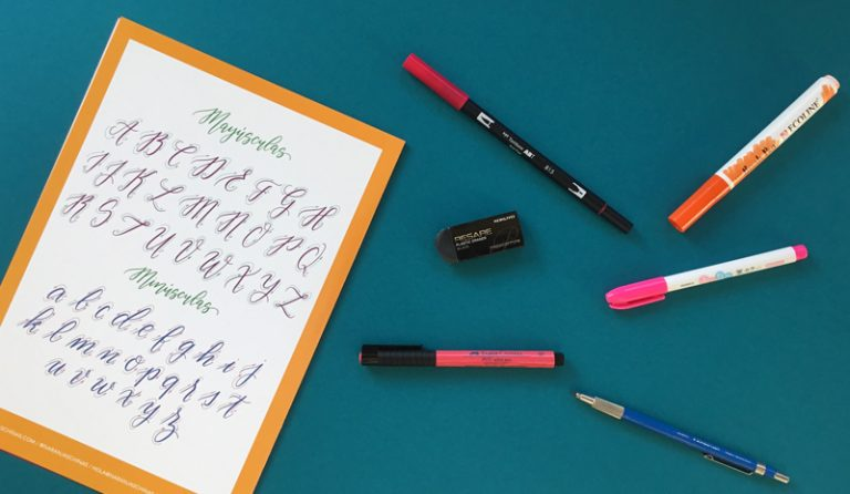 Imagen portada Recomendaciones que te ayudarán con la caligrafía moderna