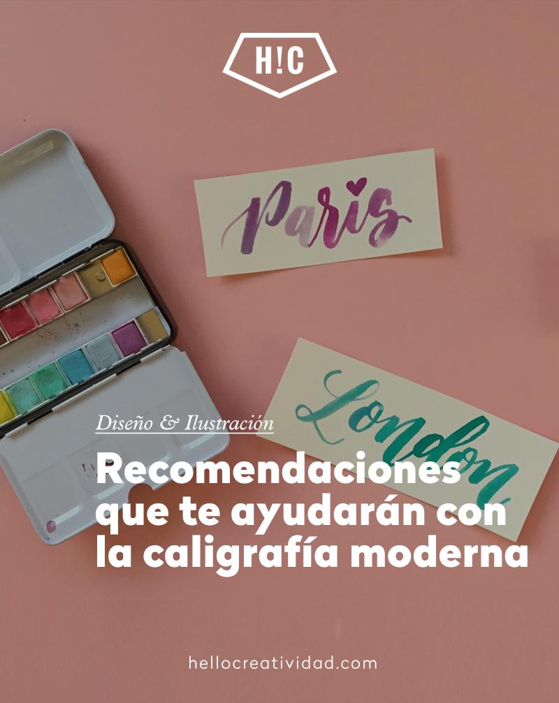 Recomendaciones que te ayudarán con la caligrafía moderna