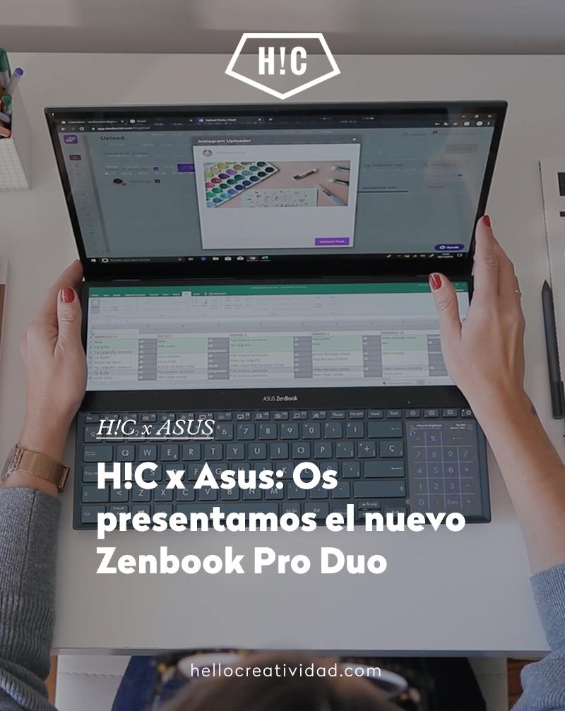 H!C x Asus: Os presentamos el nuevo Zenbook Pro Duo