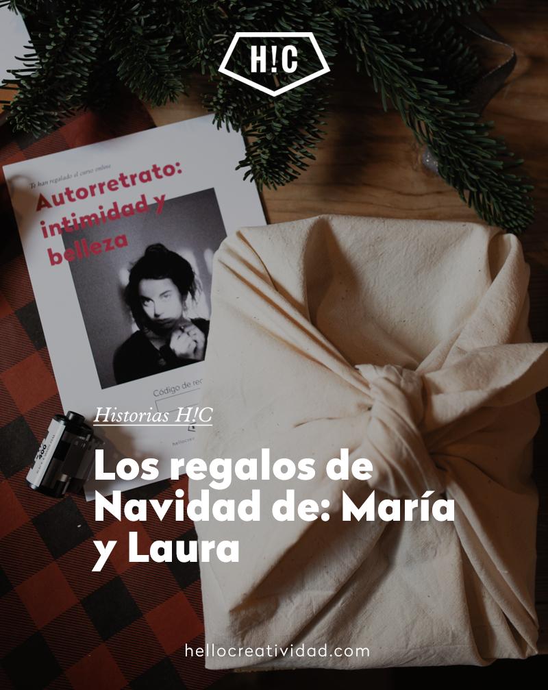 Los regalos de Navidad de: María y Laura